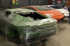 बाप-बेटे ने मिलकर बना दी लैंबोर्गिनी और फरारी जैसी नकली कारें, पुलिस ने बरामद किए आठ मॉडल