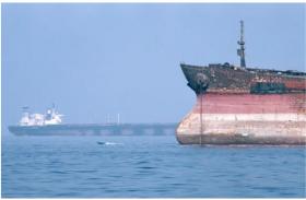 ईरान के रिवॉल्यूशनरी गार्ड्स ने विदेशी जहाज को जब्त करने का दावा किया