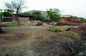 बालिका विद्यालय को खेल मैदान के लिए आवंटित भूमि से 40 साल में भी नहीं हट पाया अतिक्रमण