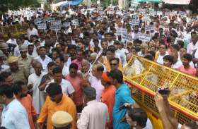 मौन जुलूस में झलका तीखा रोष, आरएसएस के स्वयं सेवकों से  मारपीट करने वालों को करो गिरफ्तार