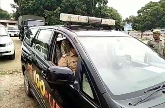 जब ड्राइवर को हटाकर एसएसपी ने खुद ड्राइव की डाॅयल 100 की गाड़ी, जानिए फिर क्या हुआ