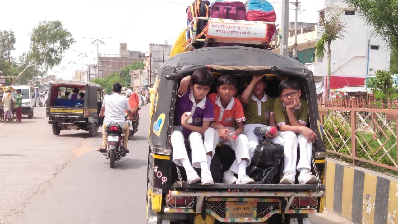 आरटीओ को नहीं खबर कि कहां की गई स्कूल वाहनों की चैकिंग