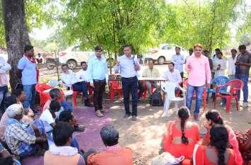 प्रधानमंत्री जल सम्मेलन के लिए मुंगेली जिले के वनग्राम झिरिया का चयन