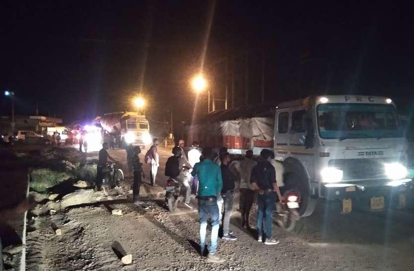 भारी वाहन ने अधेड़ को कुचला, मौत
