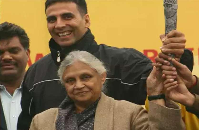 दिल्ली की पूर्व सीएम शीला दीक्षित के निधन से सदमें में बॉलीवुड, अक्षय ने कहा- उन्होंने दिल्ली का चेहरा बदला था