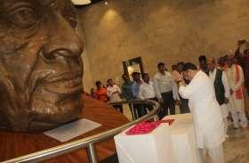 भाजपा के राष्ट्रीय कार्यकारी अध्यक्ष ने किया सरदार को नमन