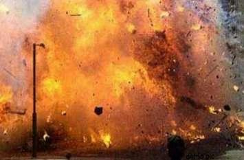 खीरी में बम ब्लास्ट से मौत, इतने हुए घायल