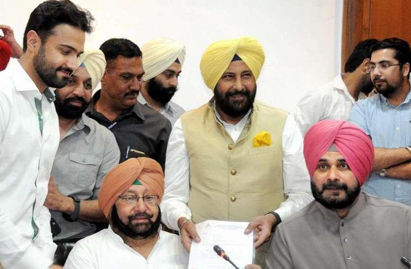 नवजोत सिंह सिद्धू का इस्तीफा सीएम के बाद राज्यपाल ने भी किया मंजूर, विभाग अभी अमरिंदर सिंह के ही पास ही रहेगा