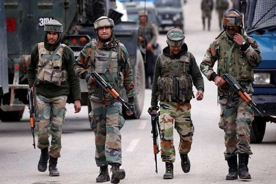 Ceasefire violation by Pakistan at LOC in Jammu Kashmir