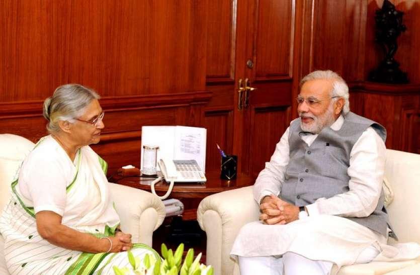 PM मोदी के काम से प्रभावित थीं शीला दीक्षित, एक बार खुलकर की थी तारीफ