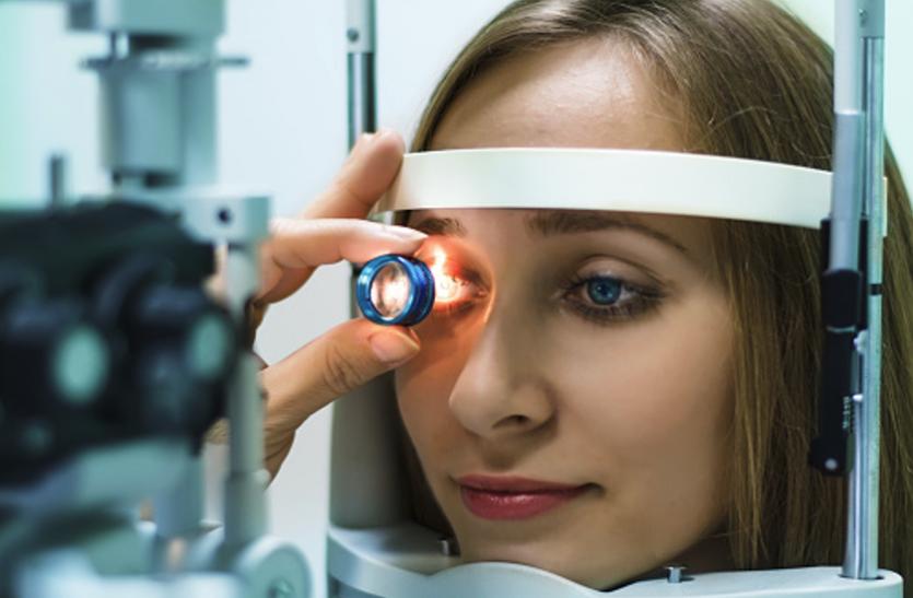 चारों ओर इंद्रधनुषी गोले दिखें ताे हाे सकता है ग्लूकोमा