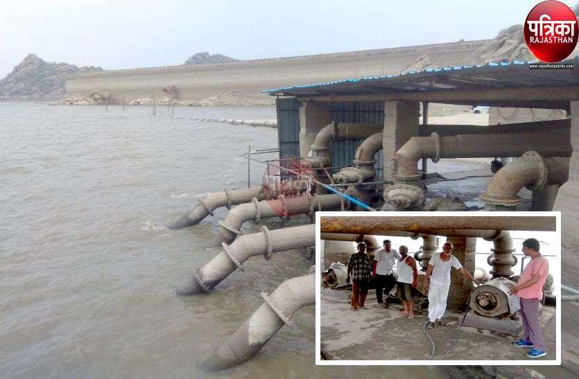 Water crisis : जवाई का लाइव स्टोरेज खत्म, डेड स्टोरेज से पम्पिंग शुरू