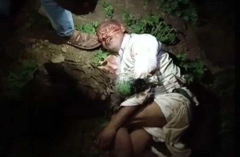 MOB LYNCHING - चोर की भीड़ ने की पिटाई, मौत