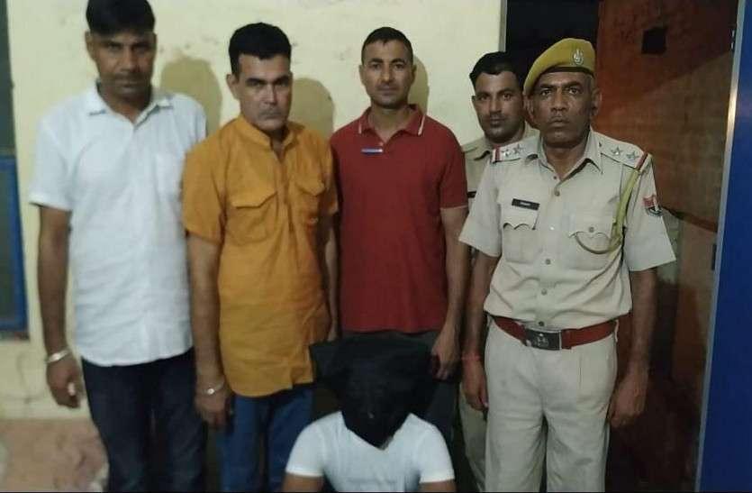 शराब ठेका पर लूट व अपहरण के मामले में एक गिरफ्तार
