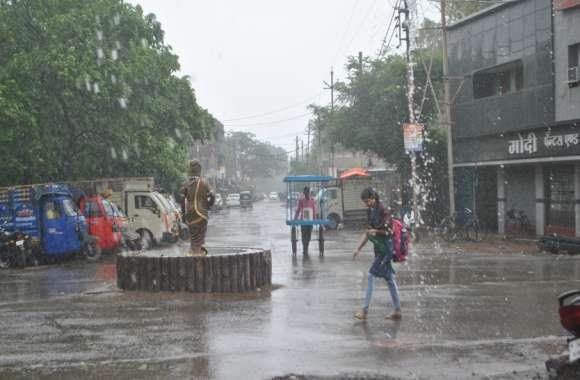 sehore weather : सात साल बाद 19 जुलाई का पारा 35.5 डिग्री पर