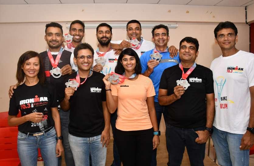 surat news : सूरत की पूजा चौरुषी बनी भारत की सबसे तेज महिला ट्राइथलीट
