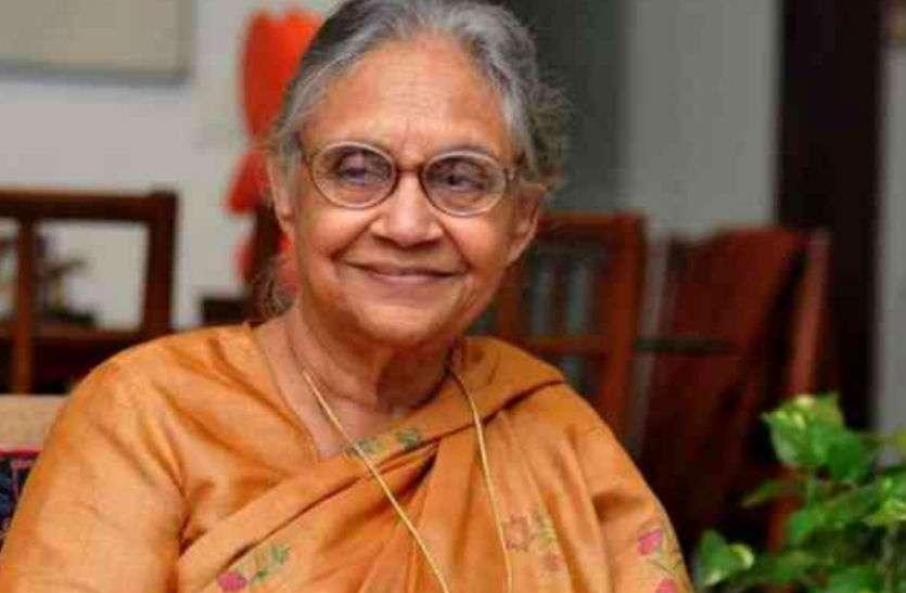डीएम पति के साथ ताजनगरी आकर रहीं थीं शीला दीक्षित, जानिए दिल्ली की पूर्व मुख्यमंत्री के जीवन की अनकही बातें...
