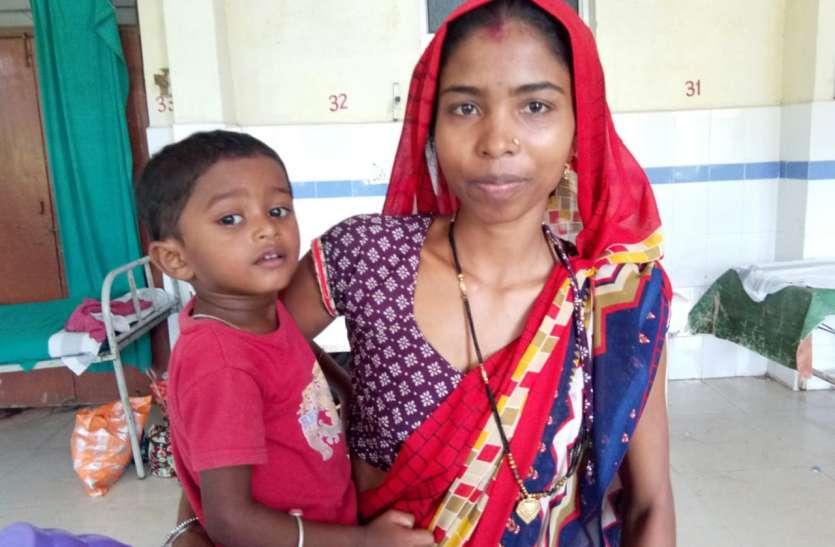 दस्तक अभियान की मदद से 3 वर्षीय नगेन्द्र हुआ कुपोषण से मुक्त