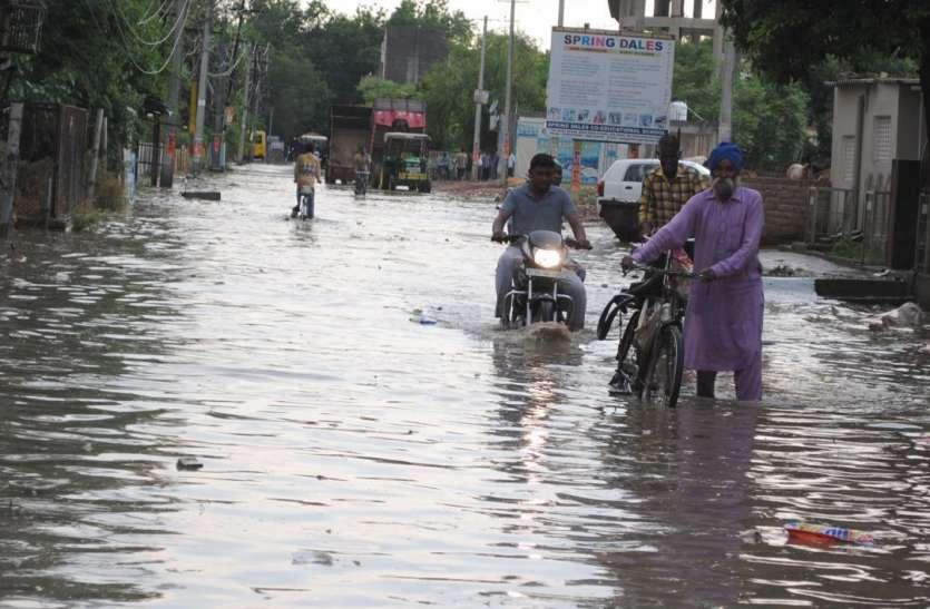 राजस्थान के कई जिलों में बदला मौसम का मिजाज, रुक-रुककर चला बारिश का दौर, तापमान में आई गिरावट