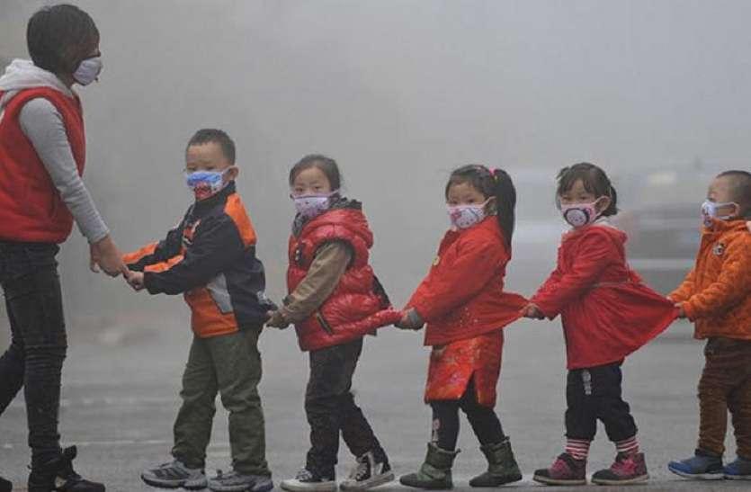 चीन में इतना वायु प्रदूषण, सौर पैनल्स भी हुए नकारा