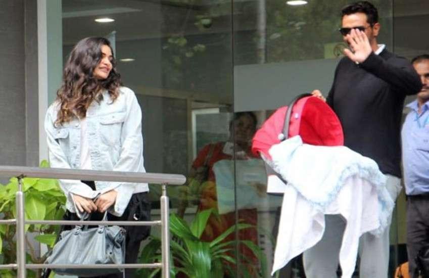 arjun-rampal-with-gabriella-and-newborn-baby