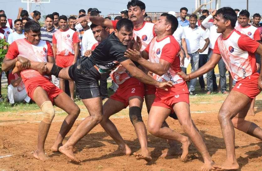 कबड्डी में धौलपुर ने कैसे हराया सवाई माधोपुर की टीम को ..देखें तस्वीरों में