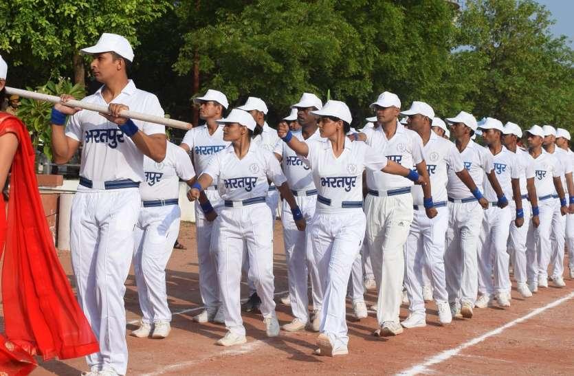 संभाग स्तरीय पुलिस खेलकूद प्रतियोगिता का आगाज