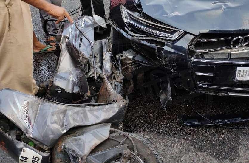 जयपुर हादसा: लग्जरी कार चालक को गुपचुप जमानत की थी तैयारी, एएसआइ सस्पेंड
