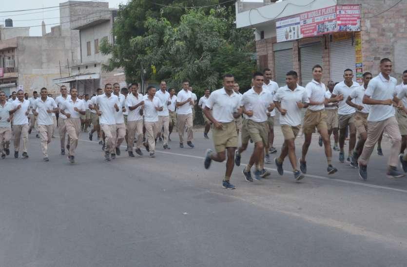 BSF Jodhpur: शहीदों के लिए 5 किलोमीटर दौड़