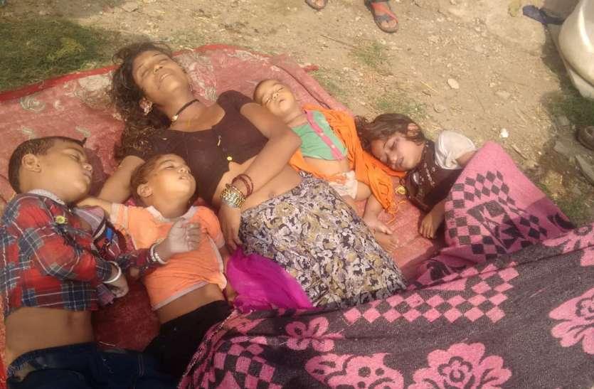 मां और चार बच्चों की मौत के मामले में पहले दिए बयान से मुकरे कई लोग
