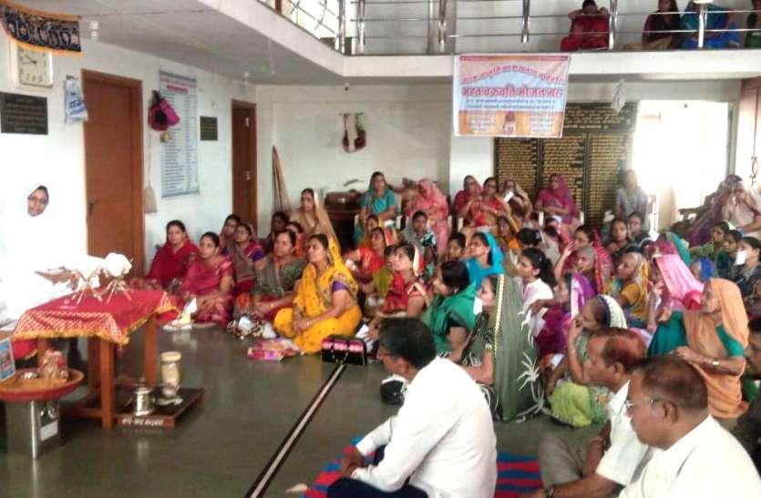 जैन धर्मावलम्बियों को चेत्य व गुरूवंदन सिखना जरूरी है- साध्वी सुप्रसन्ना मसा
