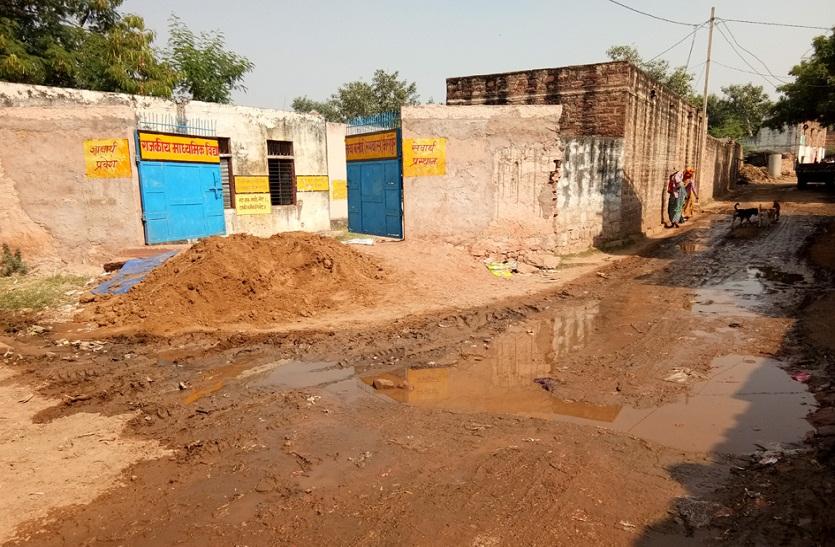 BHARATPUR NEWS : गांव ने दो-दो विधायक दिए, फिर स्कूल के बच्चों को पानी तक की व्यवस्था नहीं करवा पाए