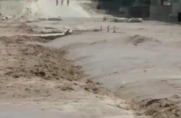 BIJNOR: तेज बारिश के बाद नदी का जलस्तर बढ़ते ही HARIDWAR जाने का ये मार्ग किया गया बंद- देखें वीडियो