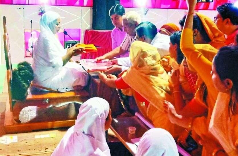 आर्यिका विभाश्री माताजी ने प्रवचनों में बताया साधु का ये अर्थ