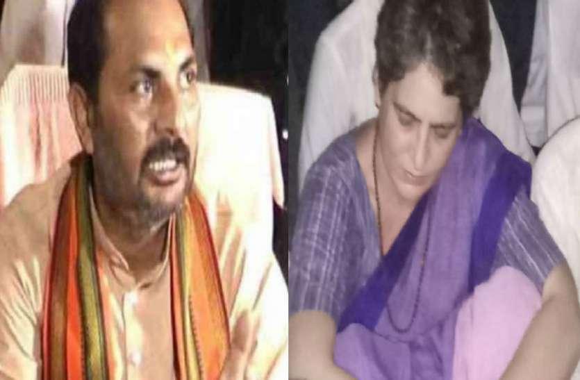 योगी के मंत्री न प्रियंका गांधी पर जमकर साधा निशाना, सोनभद्र नरसंहार को लेकर लगाया यह बड़ा आरोप