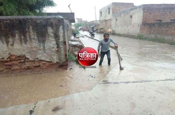 PICS : जिले के कुछ जगहों पर हुई बारिश से लोगो में आस जगी