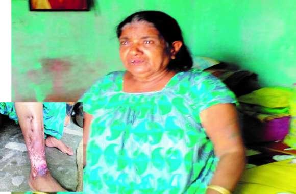 लोन लेकर फंस गई बुजुर्ग महिला अब पेंशन की राशि से हो रही भरपाई पढ़िए पूरी खबर...