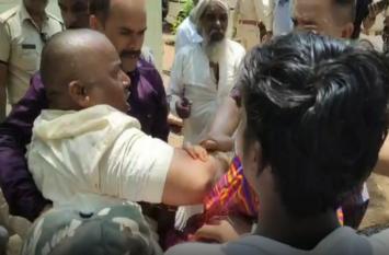 suicide news  : विकलांग ने किया आत्मदाह का प्रयास, वन विभाग पर लगाया  ये  आरोप