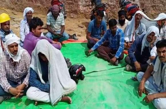 महीनों से वेतन का इंतजार कर रहे सूरतगढ़ थर्मल श्रमिकों का धैर्य टूटा, अब बैठे धरने पर