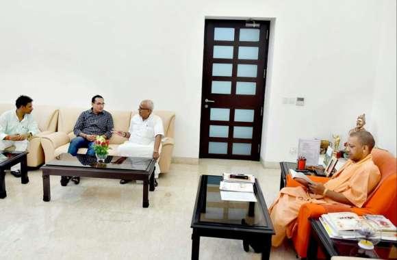 अयोध्या में सौंदर्यीकरण योजना कार्य में अनिमियत्ता पर विहिप ने की सीएम योगी से शिकायत