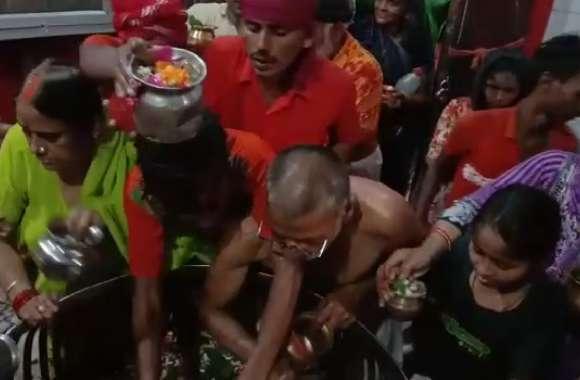सावन के पहले सोमवार पर राम नगरी में शिव भक्तों का तांता