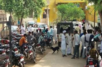 Bharatpur news:  कार की टक्कर से बाइक सवार चचेरे भाइयों की मौत
