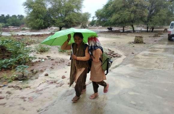 शहर में बादल, गांवों में जमकर बरसे मेघ