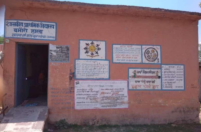 इस स्कूल में 17 बच्चों पर दो शिक्षिकाएं, फिर भी पढऩे एक भी बच्चा नहीं आता