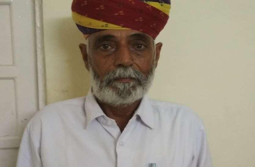 श्रीडूंगरगढ़ विधायक ने कहा वृद्ध वकीलों को दी जाए पेंशन