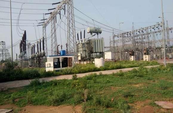हरियाणा के250 गांवों में24 घंटे से बिजली गुल