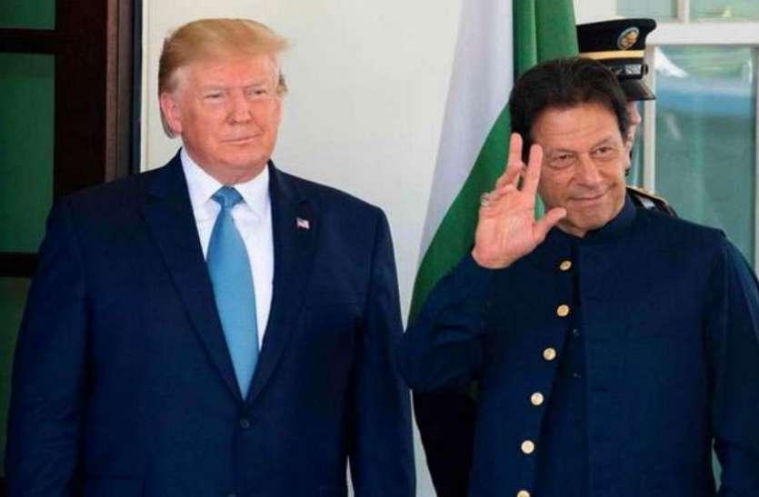 इमरान खान ने ट्रंप के 'कश्मीर मध्यस्थता' प्रस्ताव का किया स्वागत, भारत के रुख पर जताई हैरानी