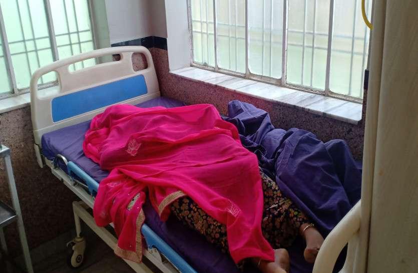 पारिवारिक कलह के कारण विवाहिता ने उठाया आत्मघाती कदम, गई तीन जान