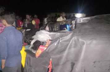 दुमका में हुआ भीषण सड़क हादसा, 3 कांवड़ियों की मौत, पांच घायल
