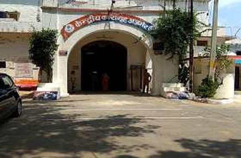 अजमेर सेन्ट्रल जेल- सुरक्षा में खामी, बिना तार दीवारों पर लटके सीसी कैमरे